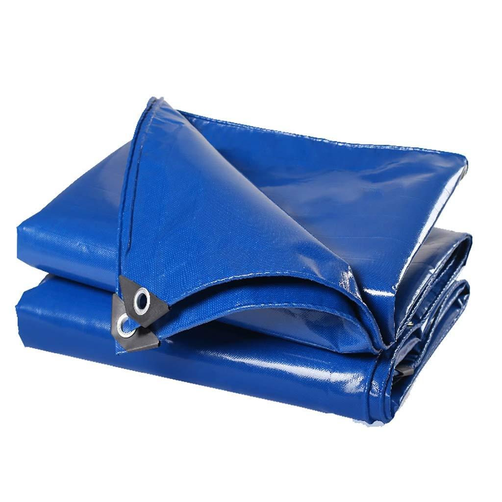 Hfspb Regendichte Regendichte Regendichte Wasserdichte Plane des blauen Dampfwagens LKW-Segeltuchplanen B07Q159KG2 Zeltplanen Billig ideal 2c80b3