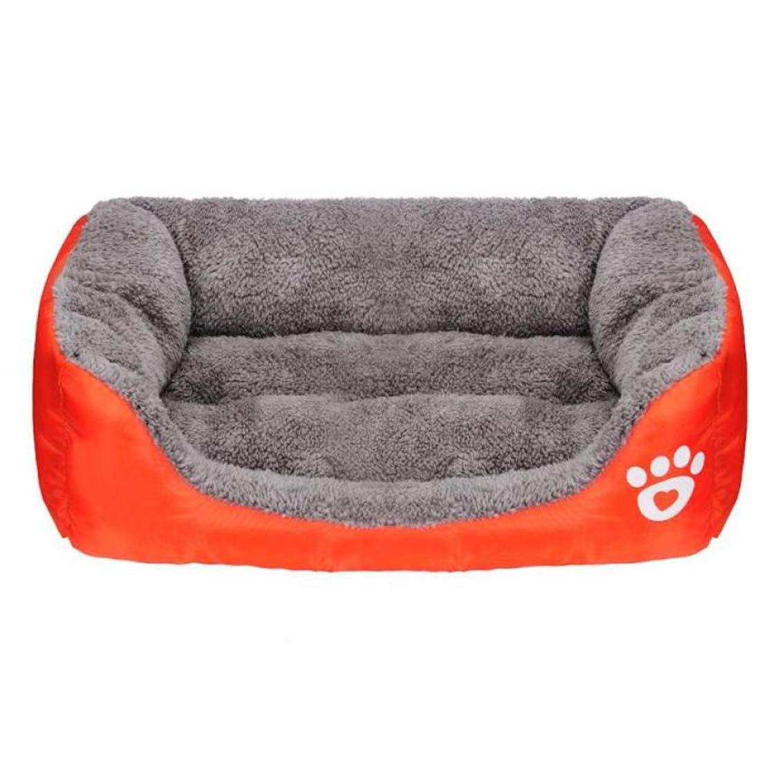 I S I S AVITMOS Dog Bed Autumn Winter Warm Kennel Large Pet Dog Bed Cushion Mat Blanket Washable House