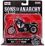 "Sons of Anarchy Filip ""Chibs"" Telford 1:18 Diecast Replica Bike"