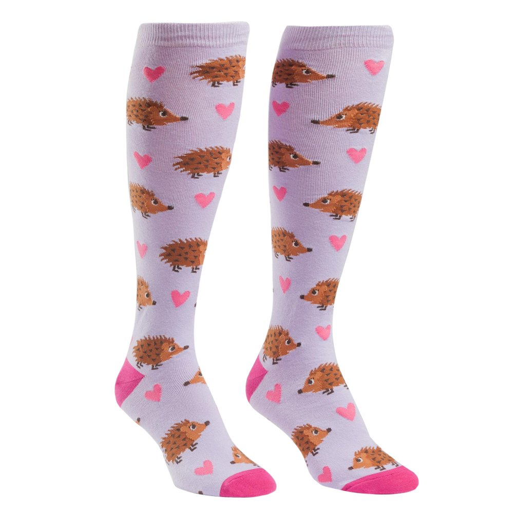 Sock It To Me Hedgehog Heaven Womens Knee High Socks F0279