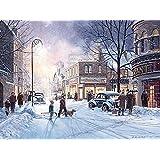 Cobble Hill Winter Evening, 500-Piece