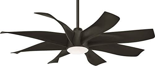 Minka-Aire F788L-ORB Dream Star 60 Ceiling Fan with LED Light Remote Control, Oil Rubbed Bronze