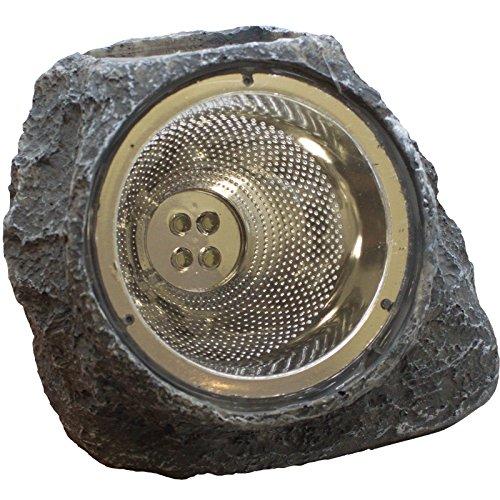 (ASC Garden Solar Rock Light Four (4) White LED AA Ni-CD 600MAH (6-Pack))