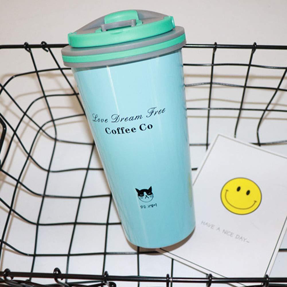 ZQWJ Thermos Tasse Tasse Tasse Edelstahl Doppelvakuum Kaffeetasse Paar Tassen Tragbare Outdoor Sports Cups B07HH2H6YH | Deutsche Outlets  a6c3f1