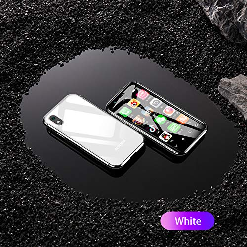 "Mini Smartphone iLight X, World's Smallest XS Android Mobile Phone 4G LTE, Super Small Tiny Micro HD 3"" Touch Screen. Global Unlocked Great for Kids. 2GB RAM / 16GB ROM. Tiny iPhone X Look Alike"