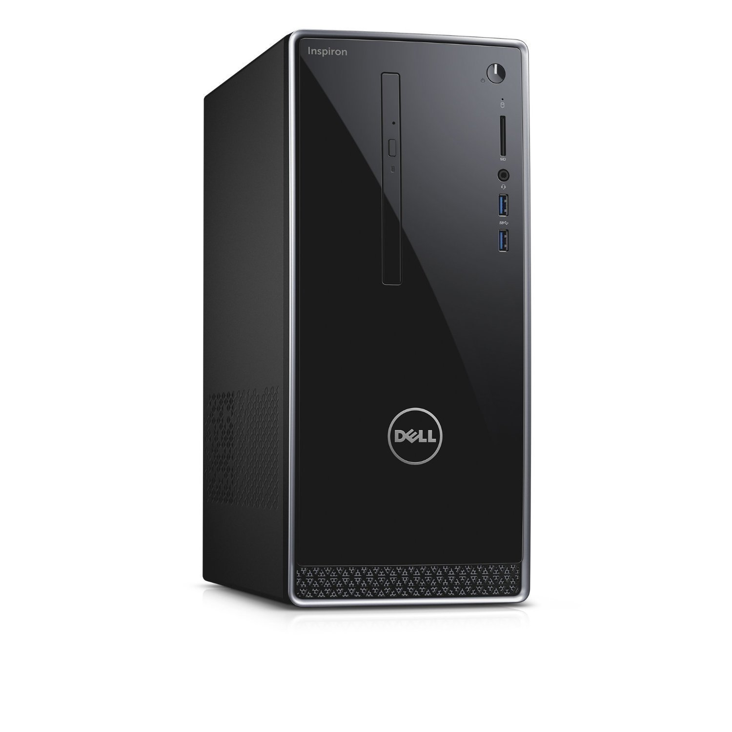 Dell Inspiron Flagship High Performance Desktop PC | Intel Core i3-6100 | 8GB RAM | 1TB HDD | DVDRW | Windows 7 Professional English 64bit (Includes Windows 10 Pro License) | Keyboard and Mouse by Dell (Image #2)