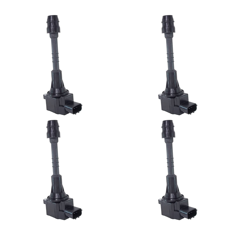 Amazon.com: Set of 4 Ignition Coils for Sentra 2002-2006 1.8L 4Cyl fits UF-351 / UF351: Automotive