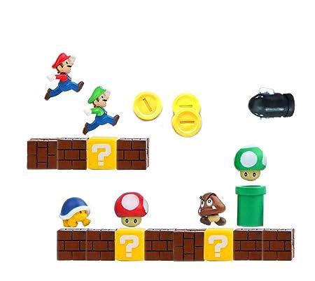 datex-bm Personajes Super Mario MAGNETI IMANES para ...