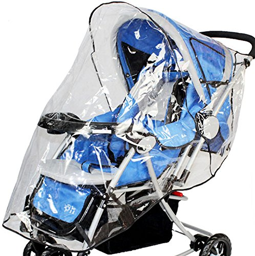 Simplicity Rain & Wind Shield Transparent Baby Stroller Cove