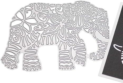Elephant Metal Cutting Dies Stencils Scrapbooking Album Decorative Embossing DIY