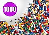 Bulk Legos Best Deals - Building Bricks - Regular Colors - 1,000 Pieces - Compatible with all Major Brands