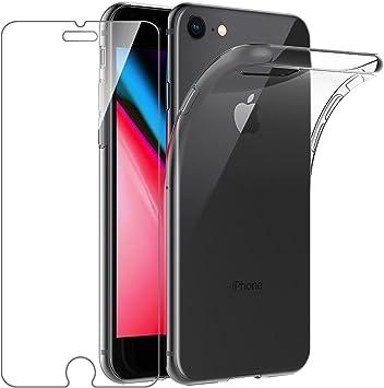 Leathlux Coque Compatible avec iPhone 8 et iPhone 7 et iPhone Se ...