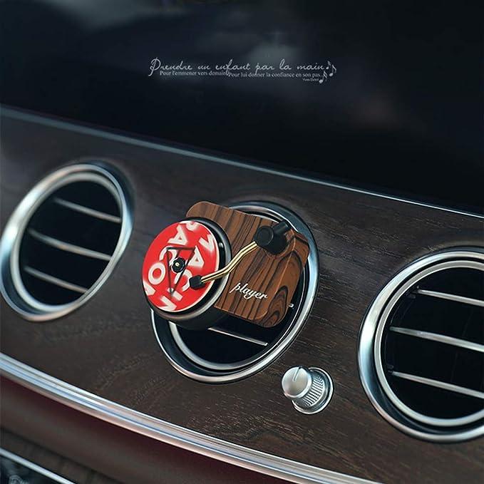 Amazon.es: Ambientador de aire del coche, aleación de aluminio del ...
