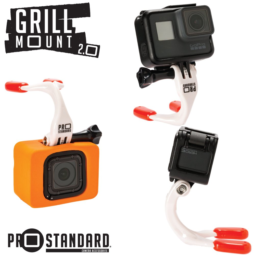 Pro Standard Grill Mount 2.0 - The Best Mouth Mount for GoPro Cameras: Amazon.es: Electrónica
