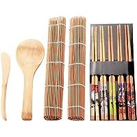 Yudanny Kit de Fabricación de Sushi de Bambú