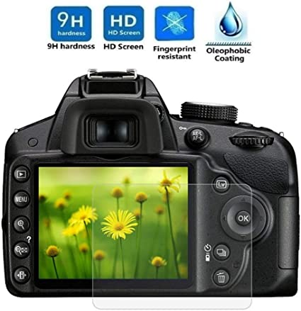 REY Protector de Pantalla para Nikon D3200 - D3300: Amazon.es ...