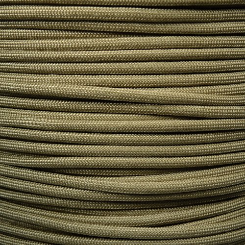 Mil Spec Paracord MIL-C-5040H Type III from the Built for Survival Titanium Series made with Genuine Authentic 7 Strand 550 LB True 550 Military Specifaction Strength Nylon Kermantle Tactical Parachute Cord - Military Graded / Approved Colors & Lengths Available - Tt1 Series