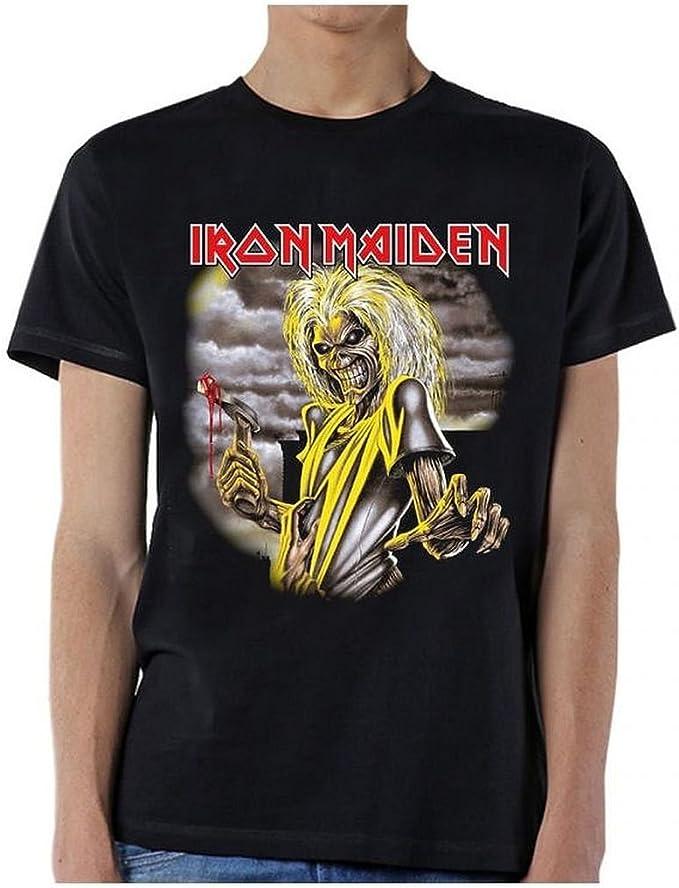 Ill Rock Merch Iron Maiden Killers Single Sided Camiseta: Amazon.es: Ropa y accesorios