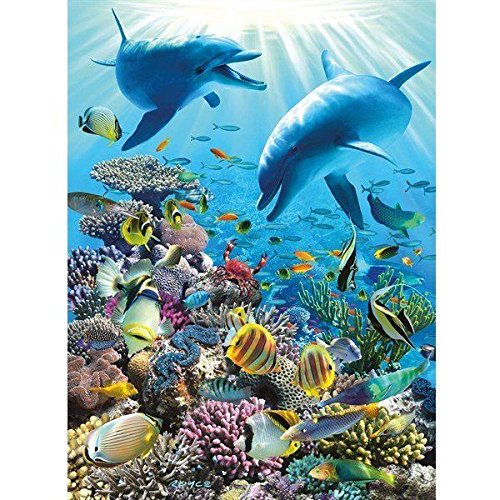 (Ravensburger Underwater Adventure 300 Piece Jigsaw Puzzle for Kids - Every Piece is Unique, Pieces Fit Together Perfectly)