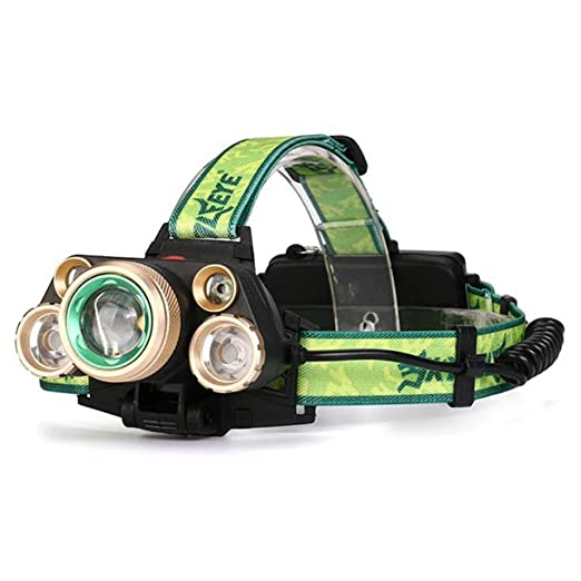Amazon.com: 35000 lúmenes 5 x XM-L T6 LED Faro Faro Linterna ...