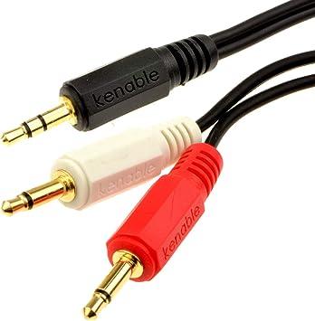 2m 6.35mm 0.6cm Stereo-Klinkenstecker auf Stecker Audio Kabel Kabel