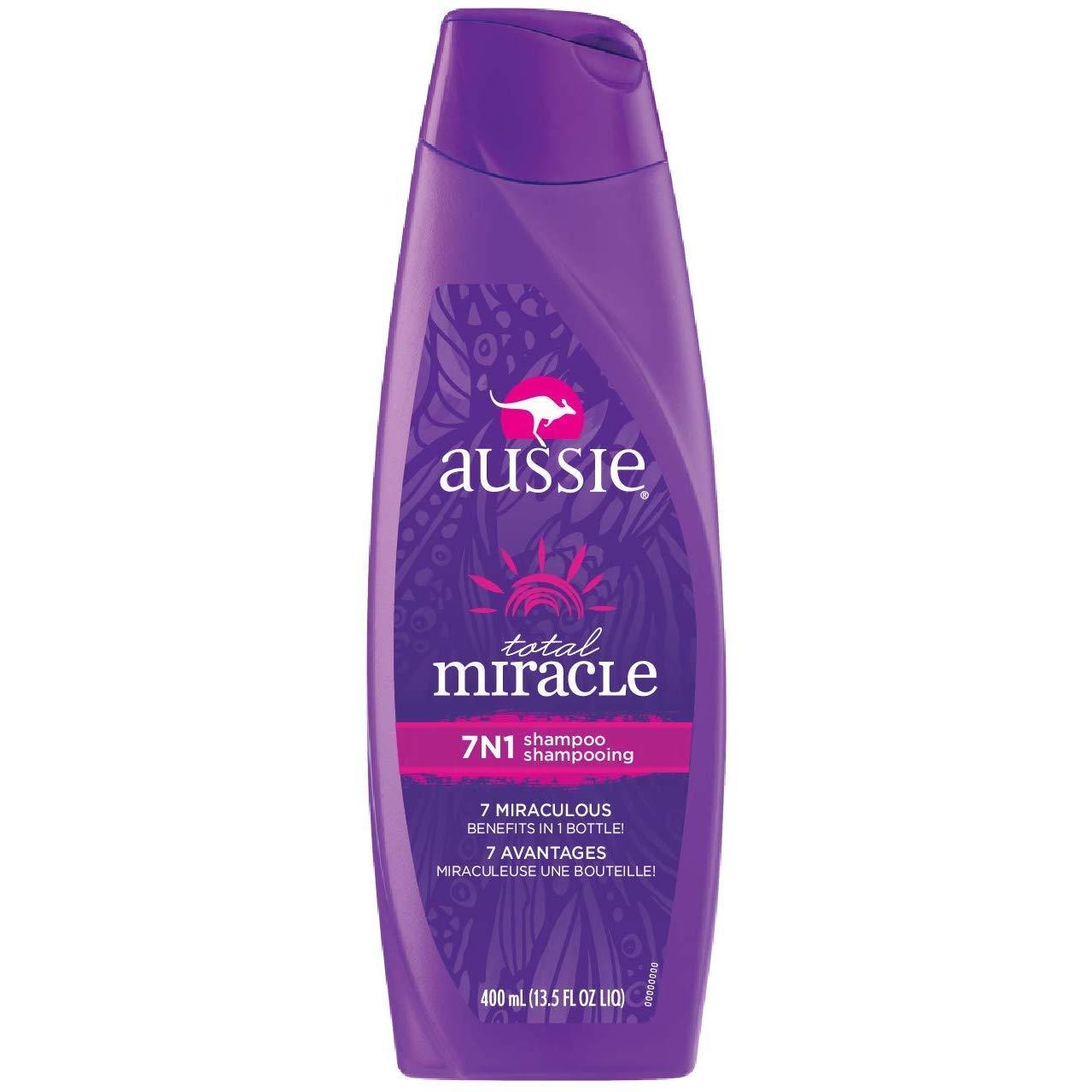 Aussie Shampoo 7-N-1 Total Miracle 12.1 Ounce (358ml) (6 Pack)