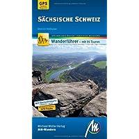 Sächsische Schweiz MM-Wandern: Wanderführer mit GPS-kartierten Wanderungen
