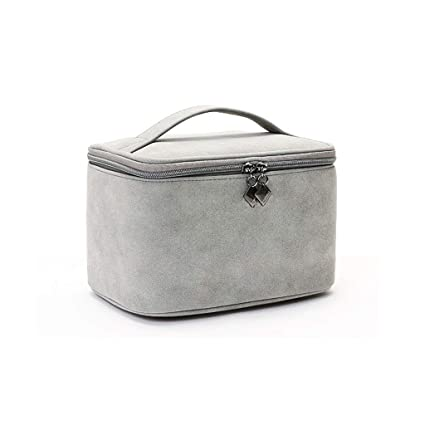 10142abc3e5a Amazon.com: VAIY Make up Bag Cosmetic Storage Box Travel Handbag ...