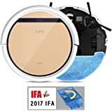 ILIFE V5s Pro Robot Vacuum Mop Cleaner with Smart Water Tank, Automatically Sweeping Scrubbing Mopping Floor Cleaning Robot