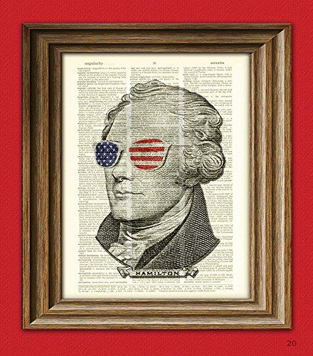 Alexander Hamilton is passionately smashing every