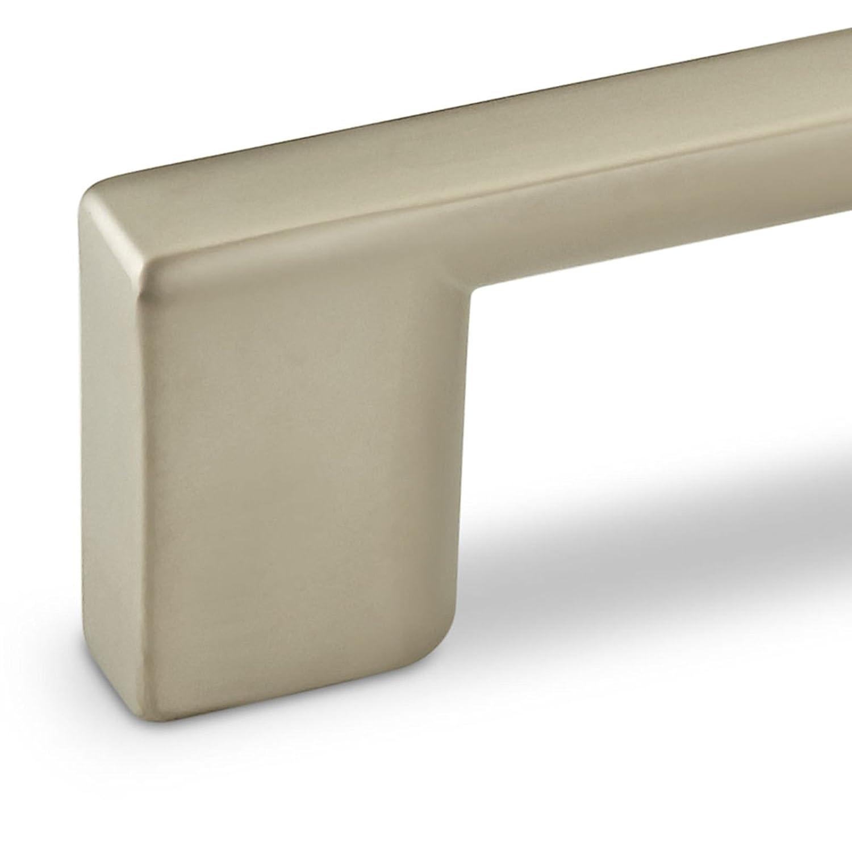5 x M/öbelgriff CHIC BA 32 mm Edelstahloptik matt K/üchengriff Schubladengriff B/ügelgriff von SO-TECH/®