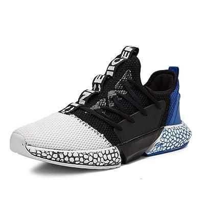 Zapatos de los Hombres, Zapatillas de Deporte Respirables de Malla de Confort, Zapatos de Running de Primavera de los Hombres de la caída, Zapatos de Color Hechizo: Amazon.es: Zapatos y complementos