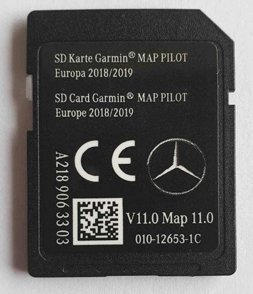 Tarjeta SD Mercedes Garmin Map Pilot STAR1 v11 Europe 2018-2019 - A2189063303: Amazon.es: Electrónica