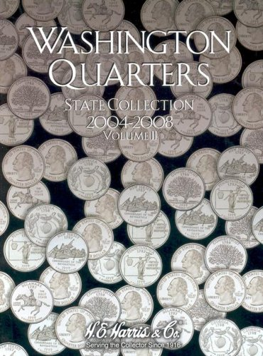 1999 2004 State Quarter - Washington Quarters: State Collection, Vol. 2: 2004-2008