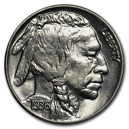 1936 Buffalo Nickel BU Nickel Brilliant Uncirculated