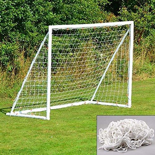 UNAKIM-6 x 4ft Football Soccer Goal Post Net For Kids Outdoor Football Match Training