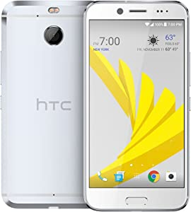 """HTC 10 EVO 5.5"""" Super LCD3 Display 32GB Octa-Core 16MP Camera Smartphone - Unlocked for All GSM Carriers - Glacial Silver"""