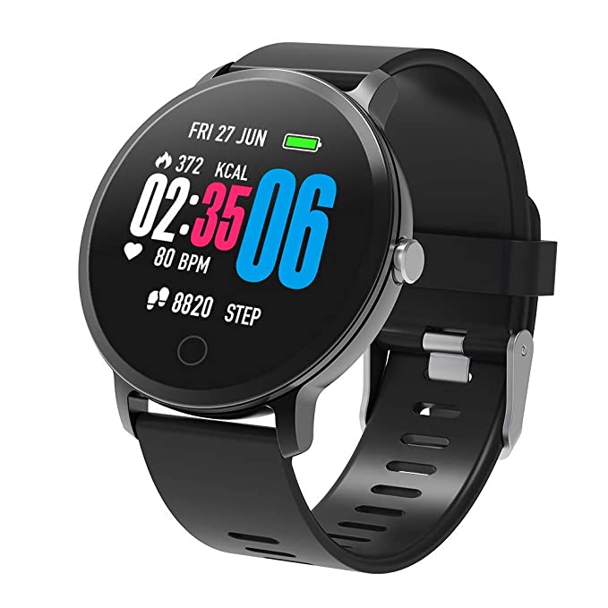 Amazon.com: (Updated 2018 Model) Fitness Tracker Smart Watch ...