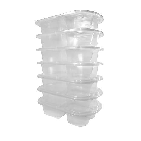 Semana 7-Pack comida Prep comida – Premium- non-leak Tight recipiente hermético
