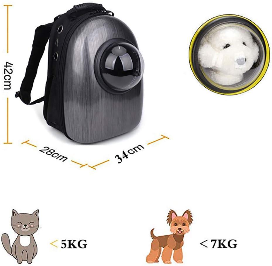QINGGG Trasportino Gatto,Borsa per Cani Zaino Traspirante,Zaino Regolabile Confortevole per Cani e Gatti per Outdoor Escursione e Viaggio in Treno Trasportino per Animali Domestici K