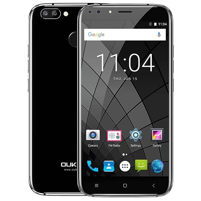 "93 opinioni per OUKITEL U22 Smartphone 3G Android 7.0 (MTK6580A Quad Core 1.3GHz, 5.5"" IPS HD"