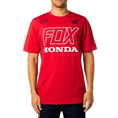 60a19ea1c4 Image Unavailable. Image not available for. Color: Fox Racing Men's Fox  Honda S/S Shirts ...