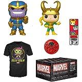 Funko Marvel Collector Corps Subscription Box, Marvel 80th Anniversay Theme, September 2019, Medium T-Shirt