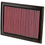 infiniti q50 air filter - K&N 33-2409 High Performance Replacement Air Filter