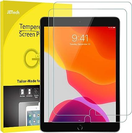 JETech Protector de Pantalla Compatible con iPad 7 (10,2 Pulgadas ...