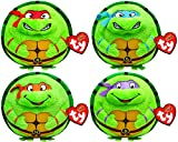 Ty Teenage Mutant Turtles Beanie Ballz Plush Toy Set of 4