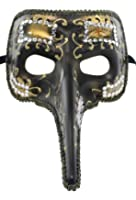 RedSkyTrader Mens Long Nose Joker Mask