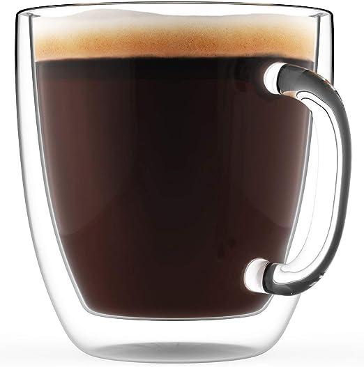 Amazon.com: Elixir Glassware taza de café grande con ...