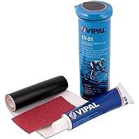 Kit de reparo para câmara de bicicletas com 3 peças cx com 12 jogos - EV 01 - Vipal