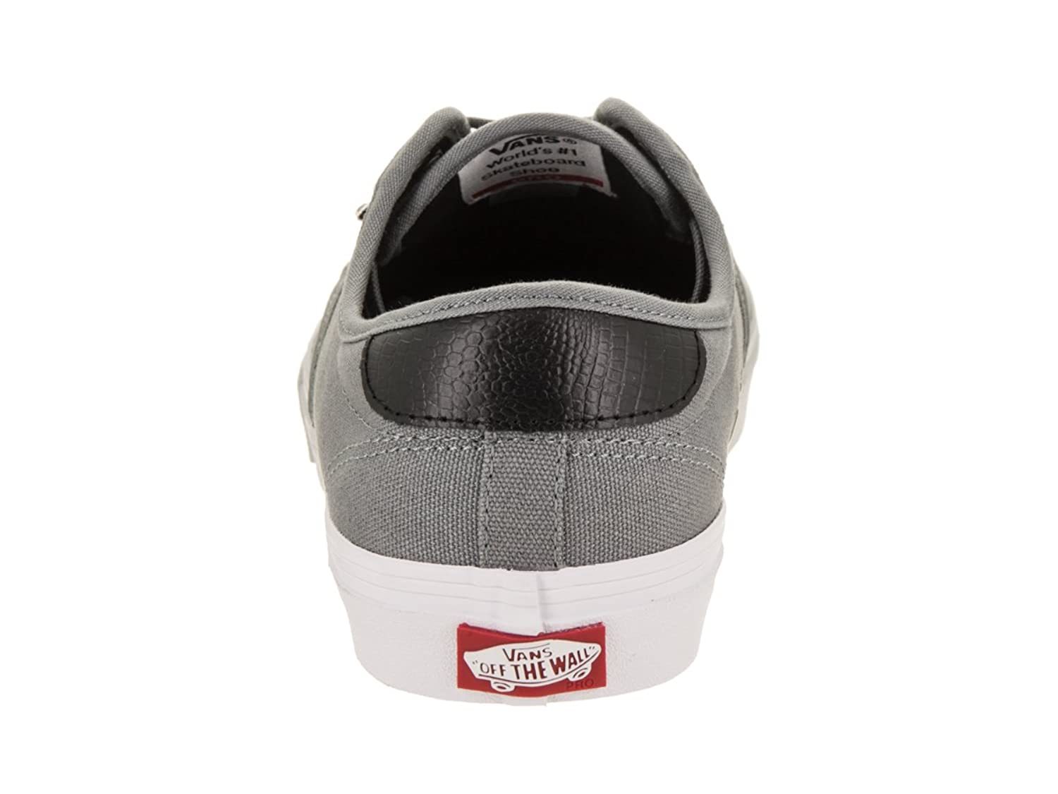4d0d8745cbb272 Vans Men s Chima Ferguson Pro Skateboarding Sneakers Dark Grey Burnished  Leather 6.5 D(M) US  Buy Online at Low Prices in India - Amazon.in